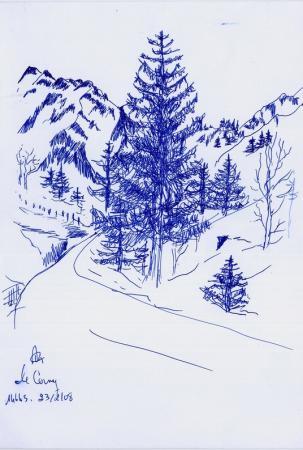 Le Cerny, version 2008
