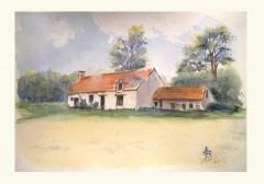 Chérupeaux;stage;aquarelle;pastel