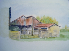 Aquarelle,plein air